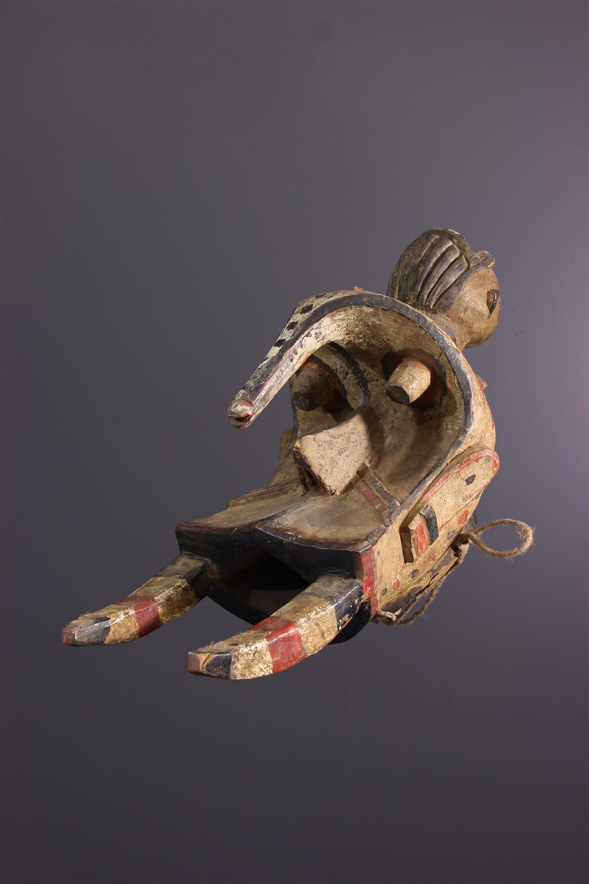 Masque Igbo Ogbodo Enyi - Art tribal