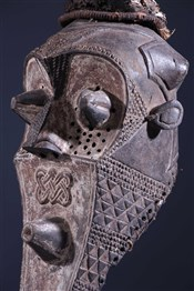 Masque africainMasque Kabongo Kuba