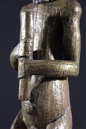 Statues africainesEffigie masculine du Byeri