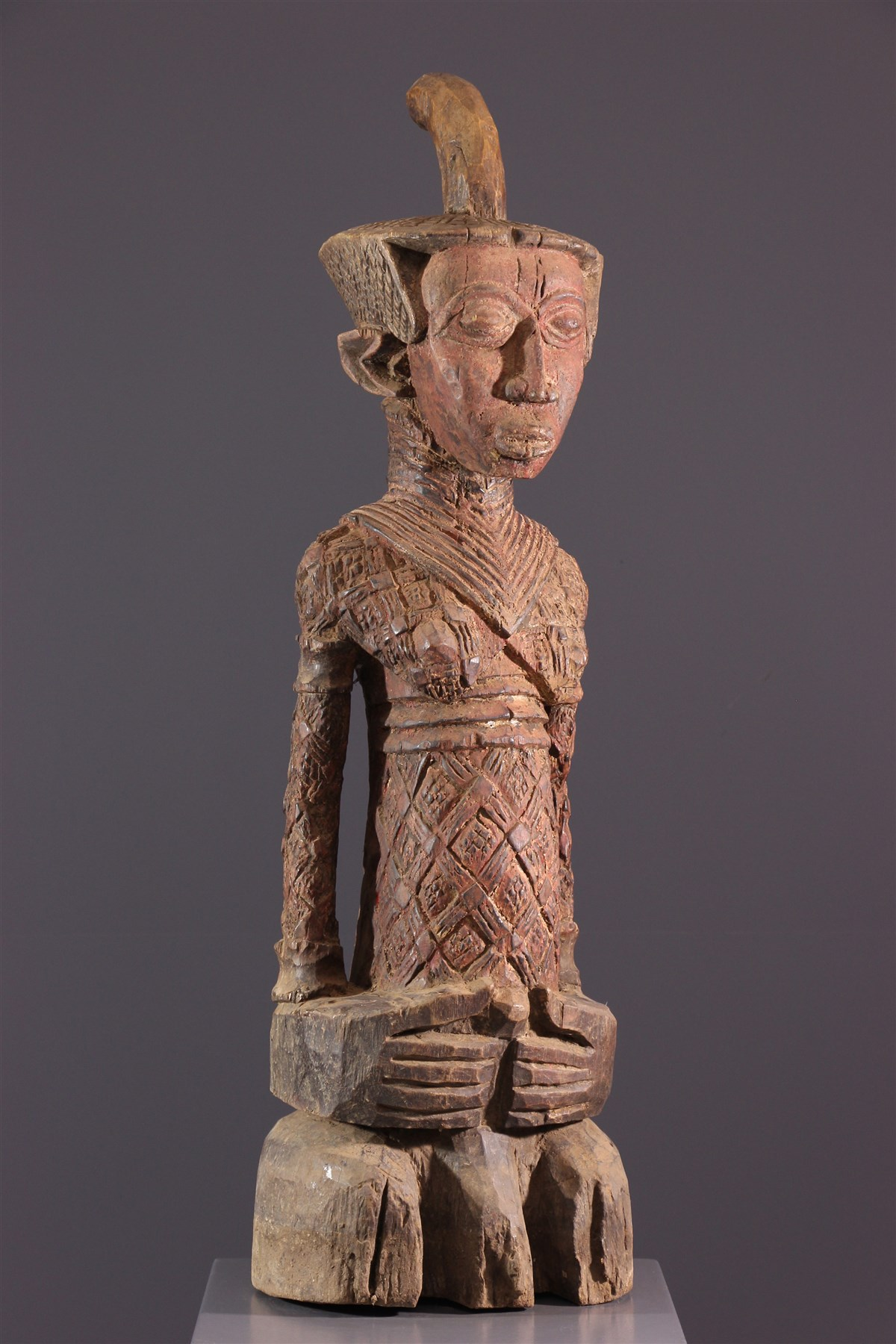Statue d'ancêtre Ndengese Congo - Art tribal