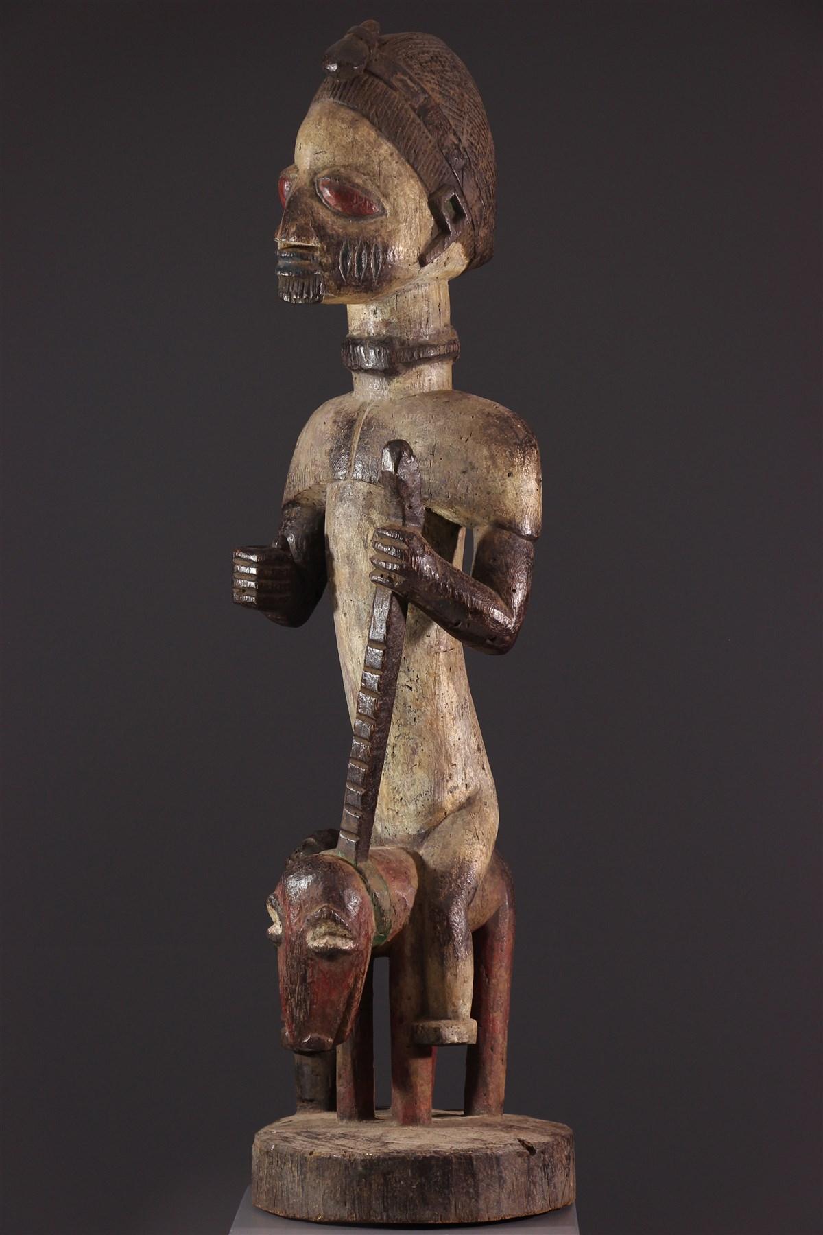 Autel de cavalier Yoruba - Art tribal