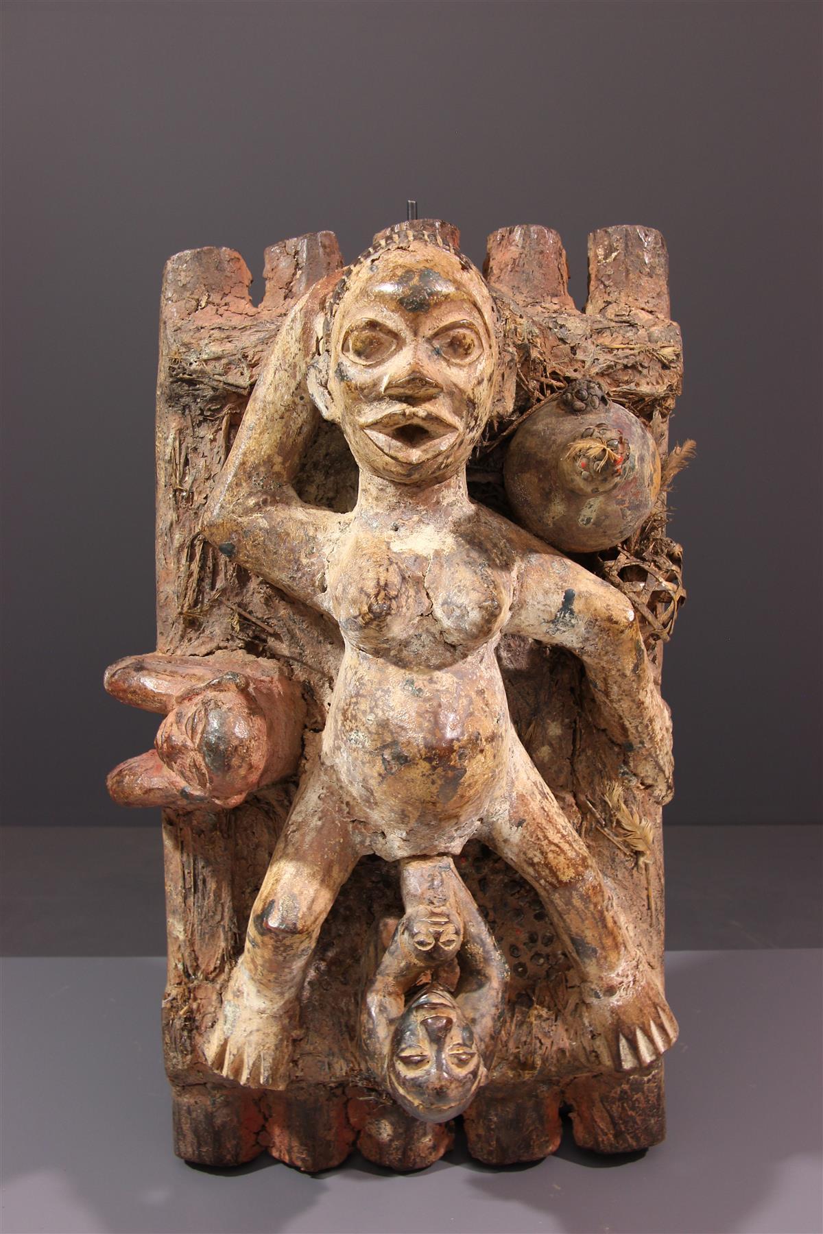 Statue Pende - Art tribal