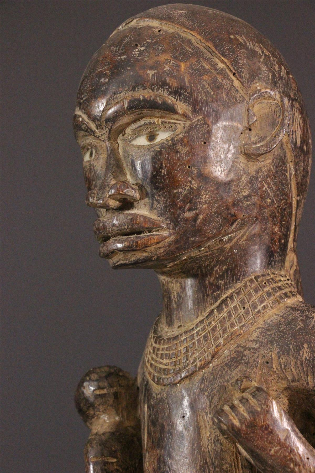Statue Kongo - Art tribal