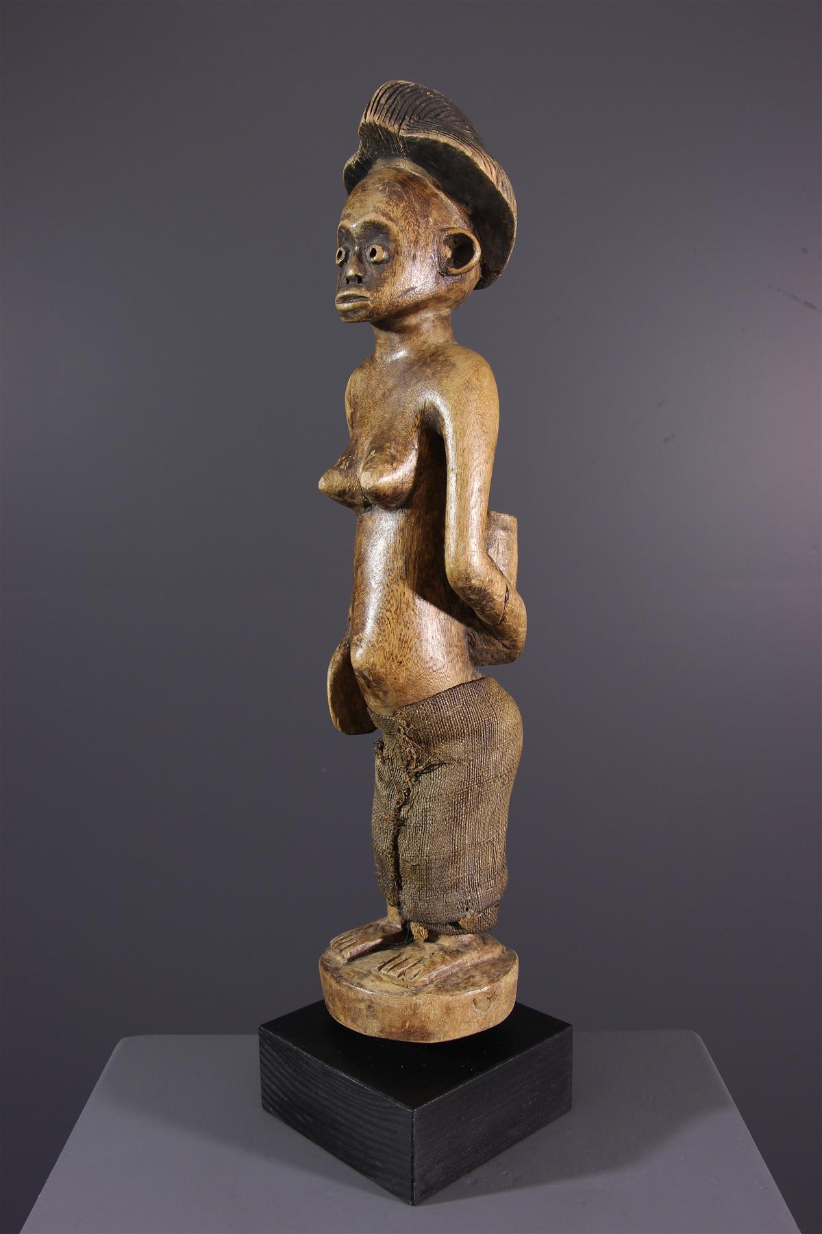 Statue Punu - Art tribal