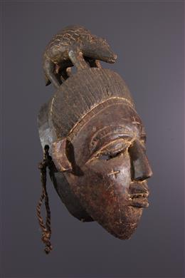 Art tribal - Masque Baoulé des Mblo