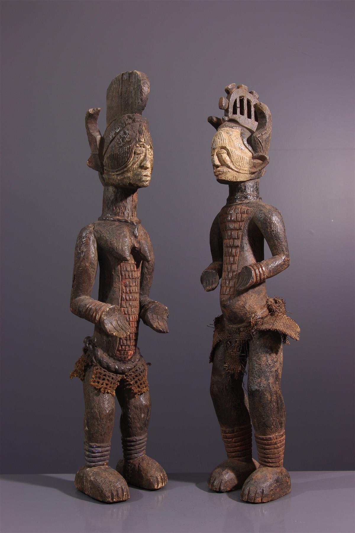 Statues Igbo  - Art tribal