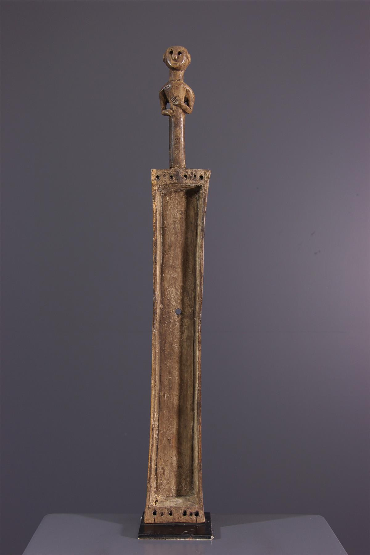 Cordophone Nyamwezi - Art tribal