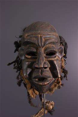 Art tribal - Masque Bamileke Bangwa Kunga