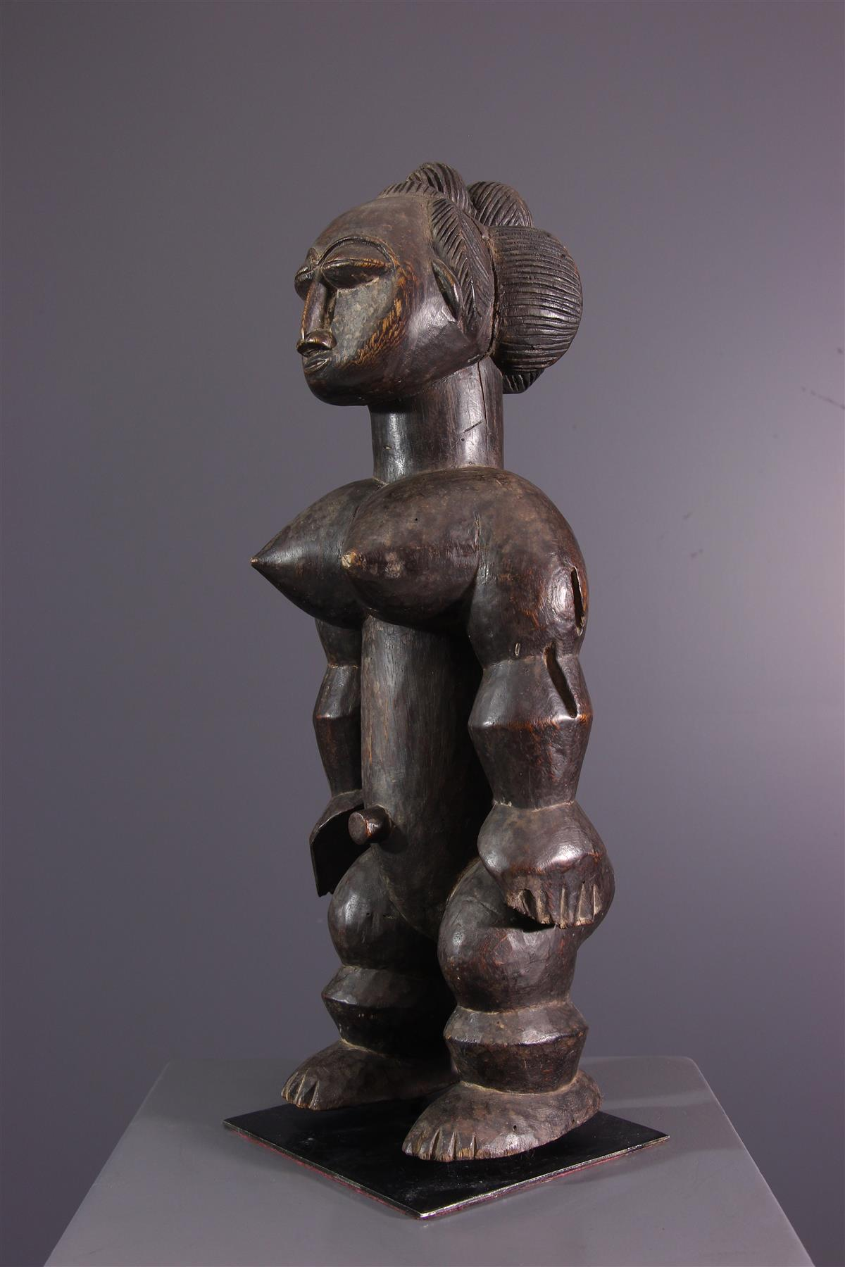 Statue Akyé - Art tribal