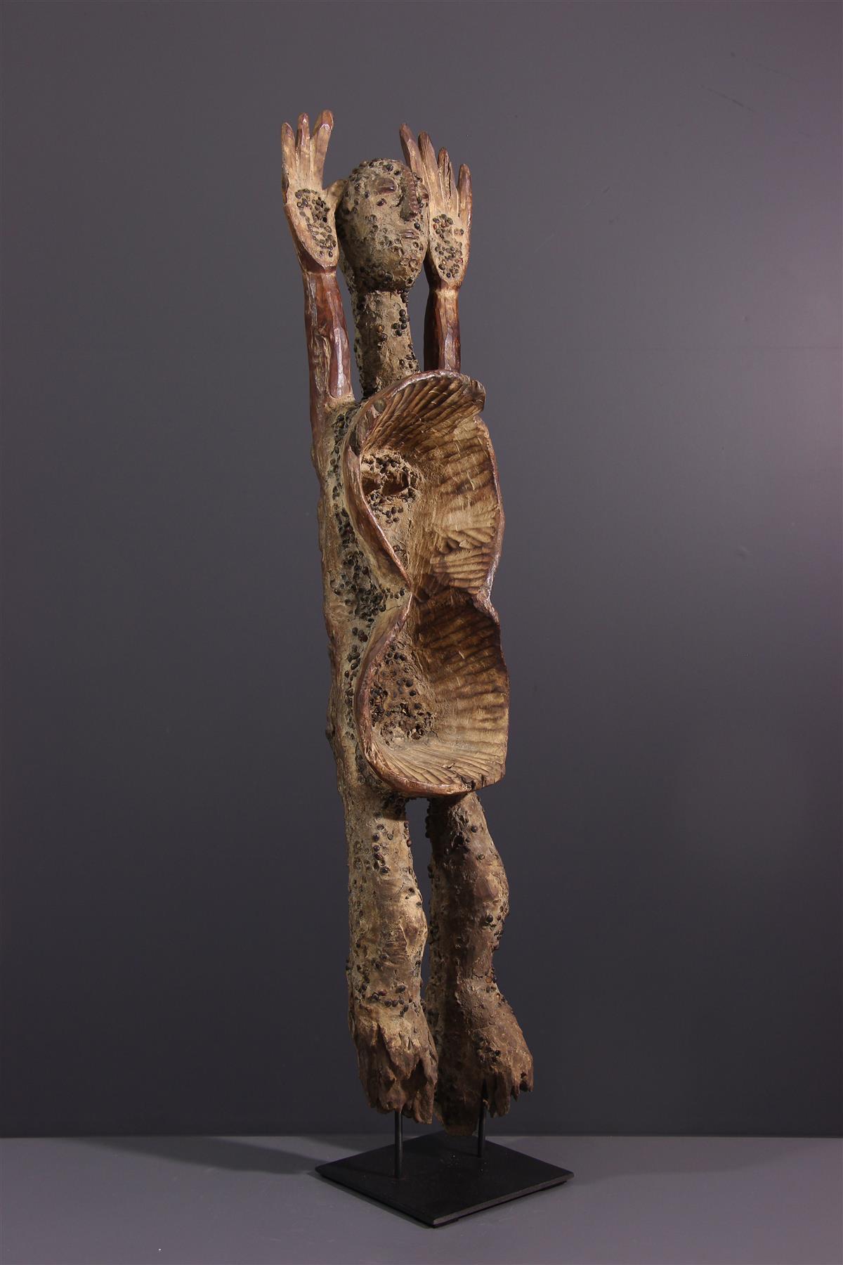 Statue Koro - Art tribal
