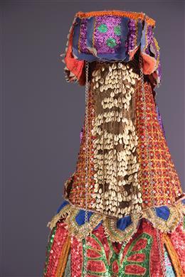 Masque costume Egungun Yoruba