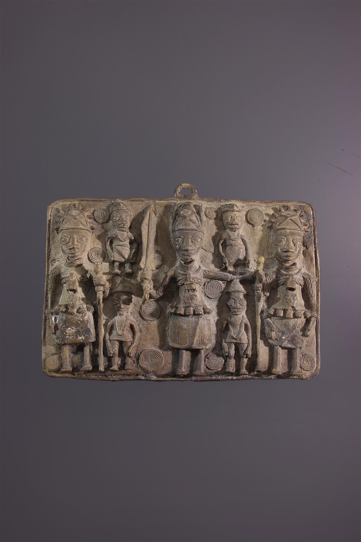 Plaque Bénin - Art tribal