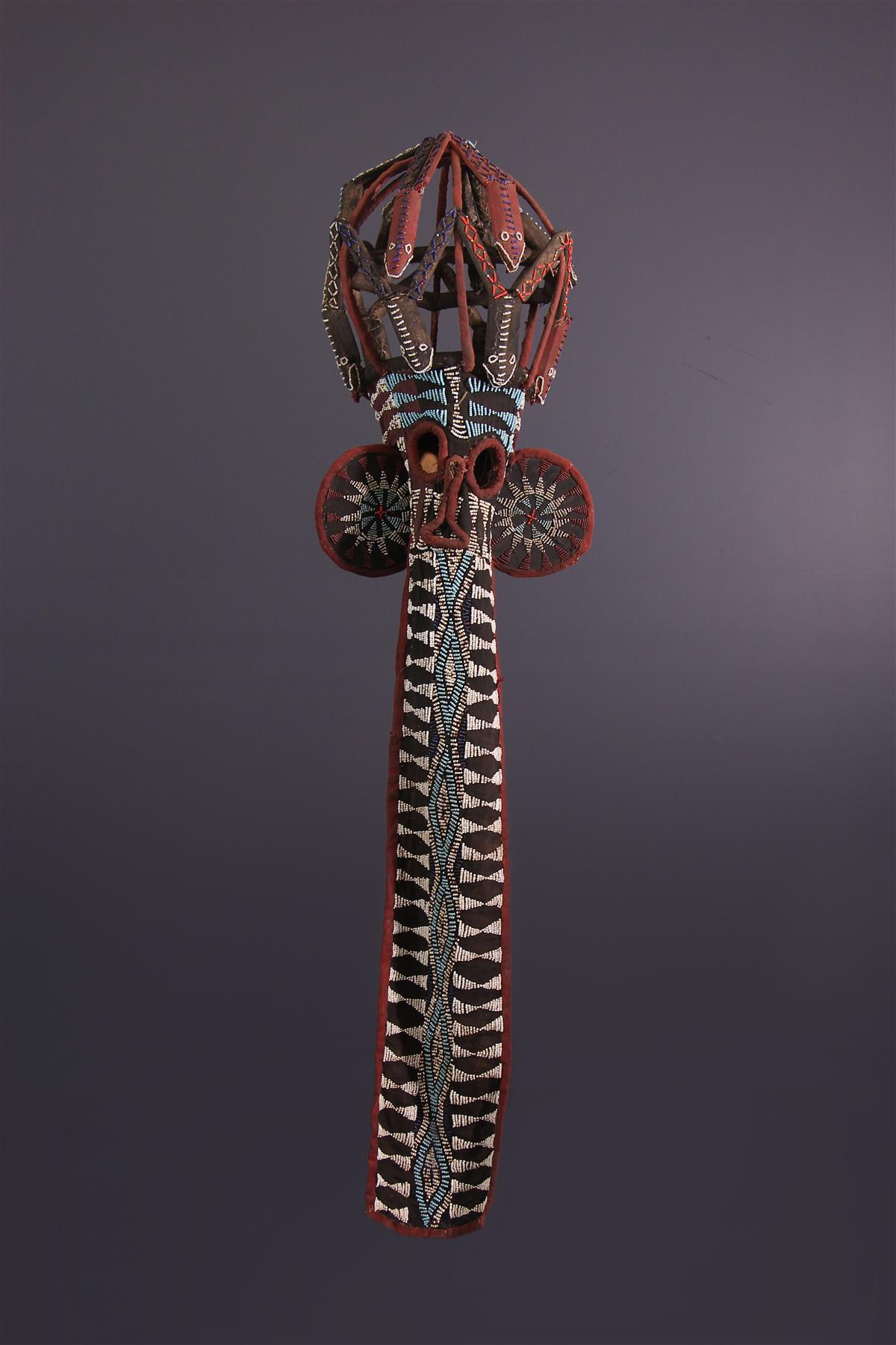 Masque Bamileke - Art tribal