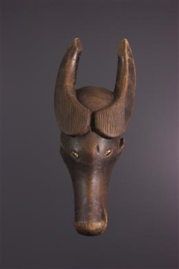 Art tribal - Masque buffle Holo Muela mpakasa