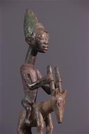 Bâton de commandementBâton Yoruba