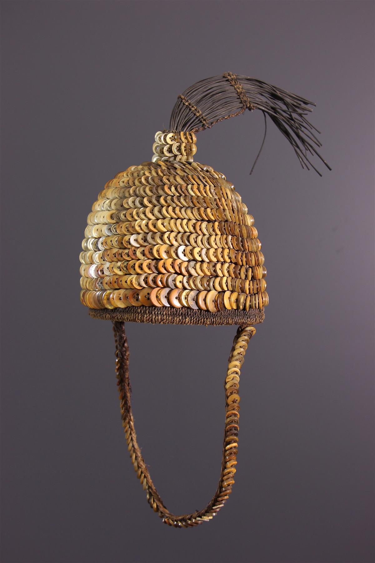 Chapeau Lega - Art tribal
