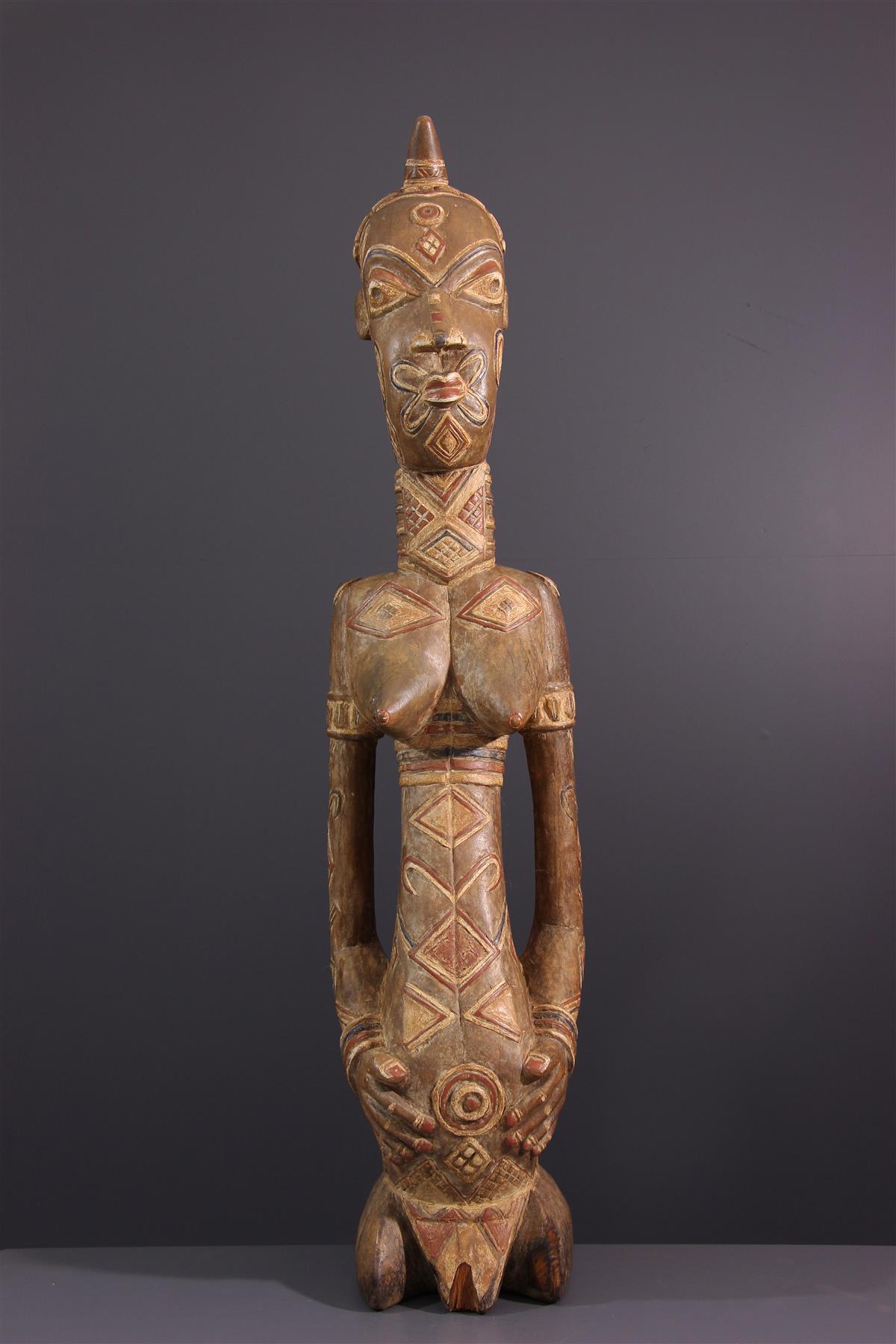 Statue Dengese - Art tribal