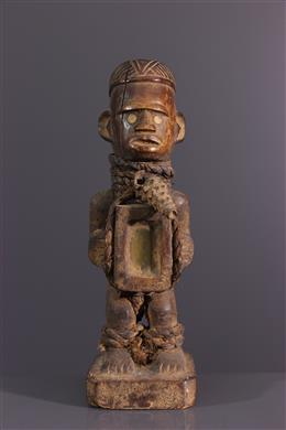 Figure rituelle Kongo Nkishi Yombe
