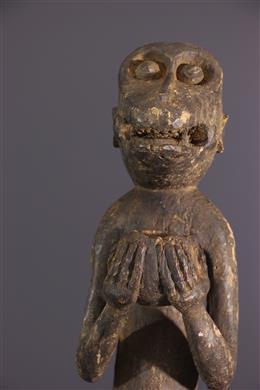 Statue Baoulé Aboya / Mbotumbo