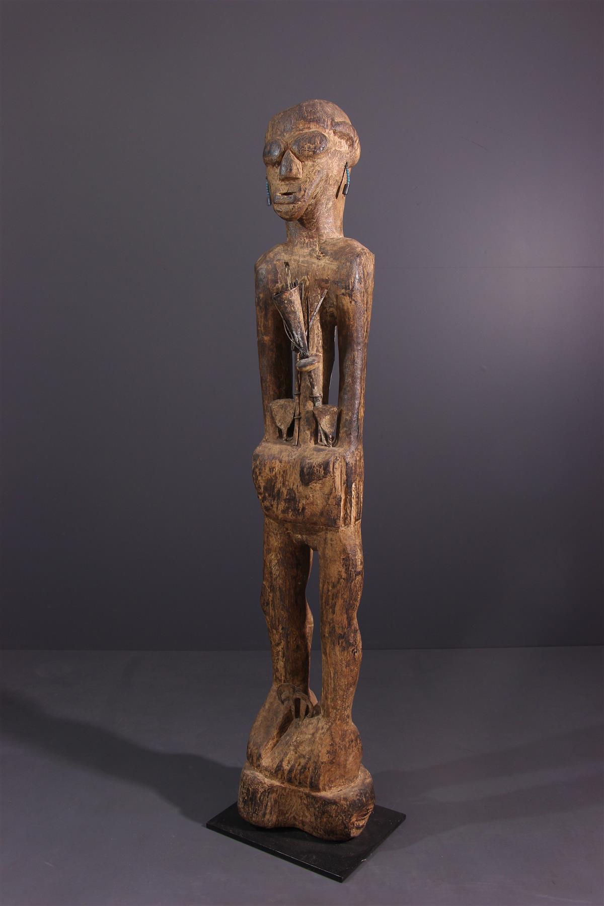 Statue Fon - Art tribal