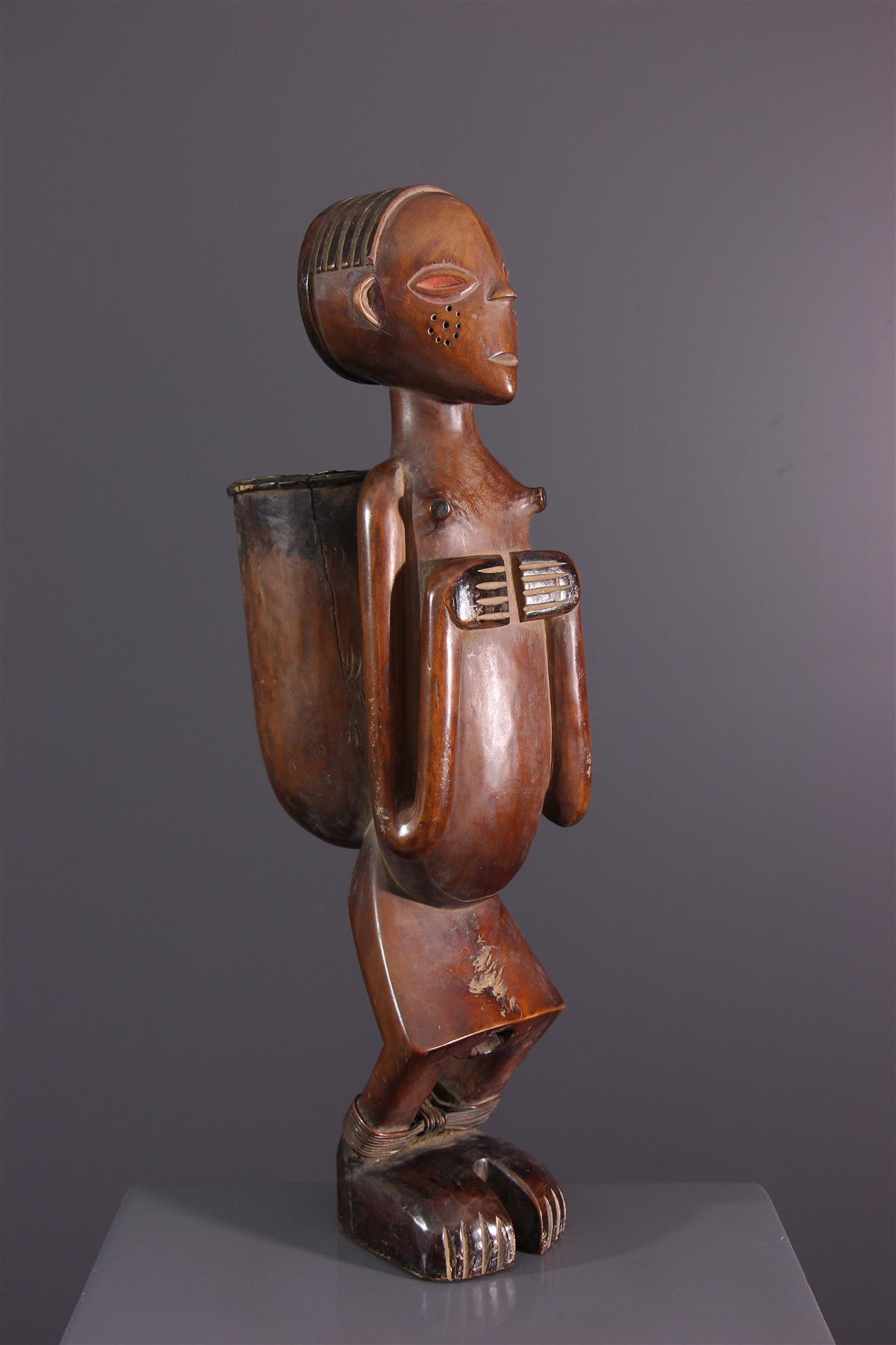 Statue Angola - Art tribal