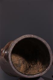 Pots, jarres, callebasses, urnesBoîte Tschokwe