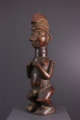 Statuette récipient Kumbu di Mpemba