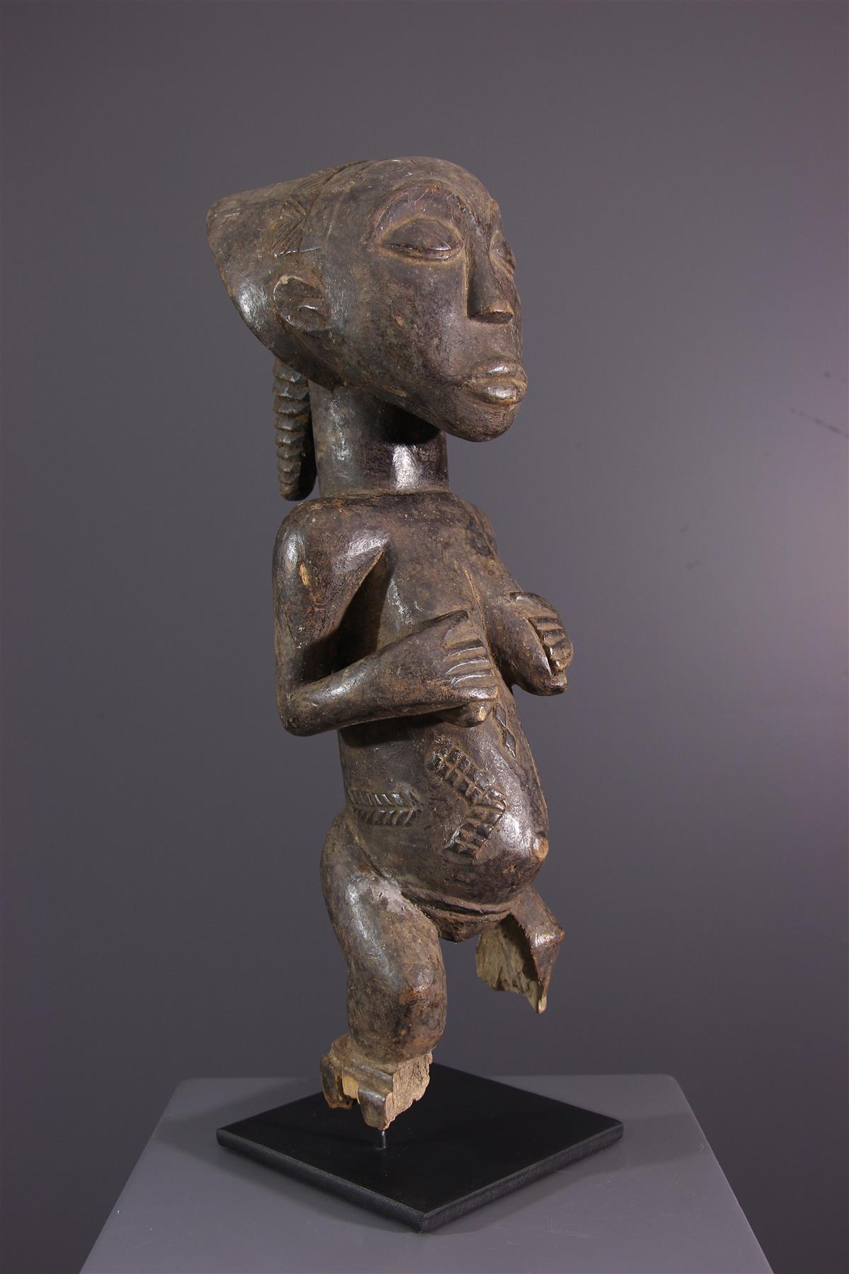 Statue Luba - Art tribal
