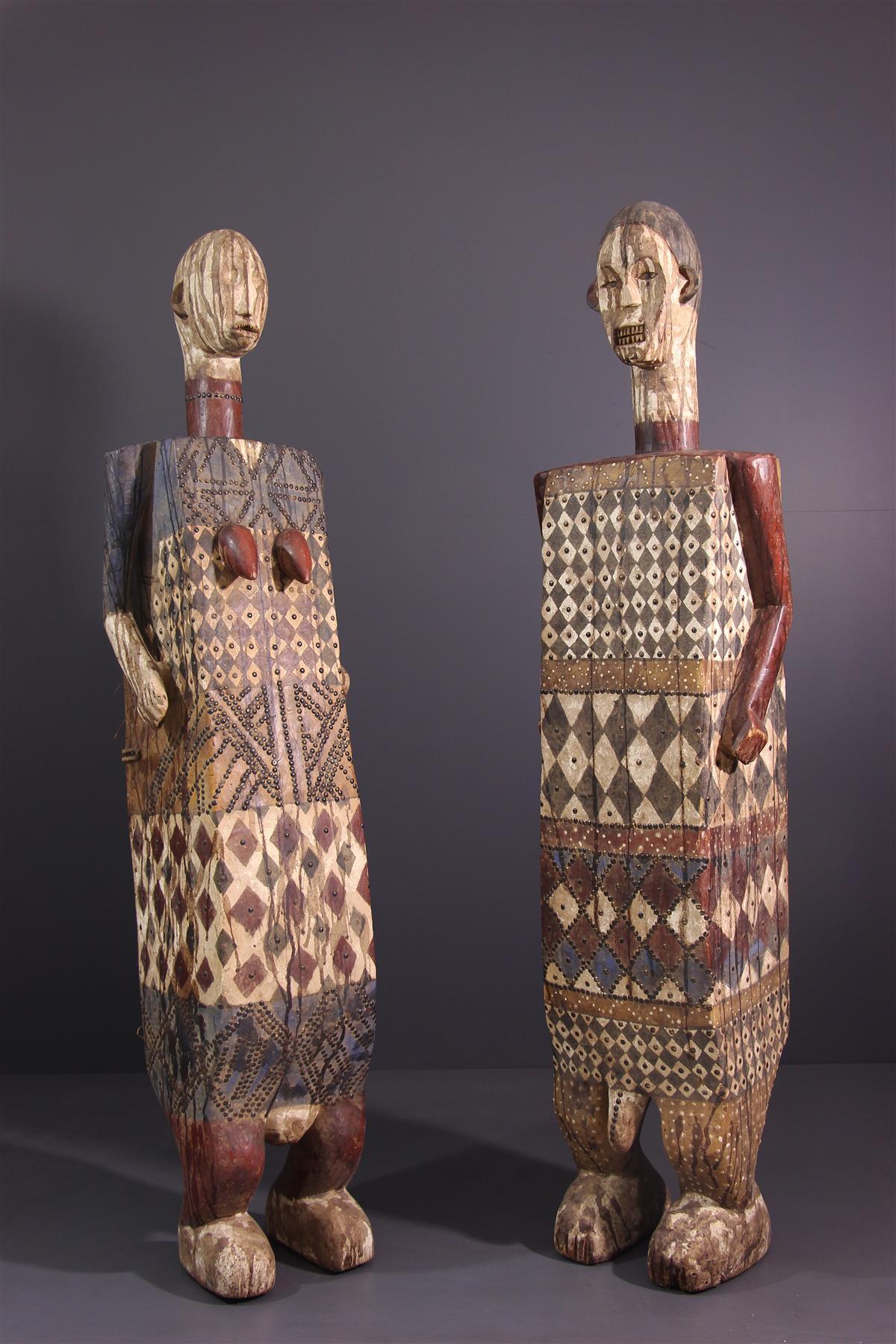 Statues Efomba - Art tribal