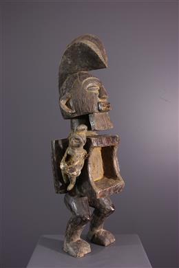 Art tribal - Figure dancêtre Téké- Yansi Butti