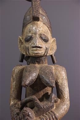 Art tribal - Figure dautel Yoruba