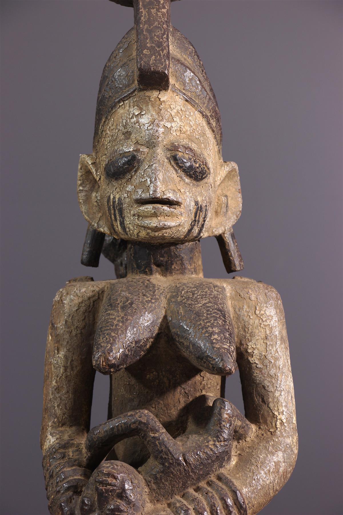 Maternité Yoruba - Art tribal
