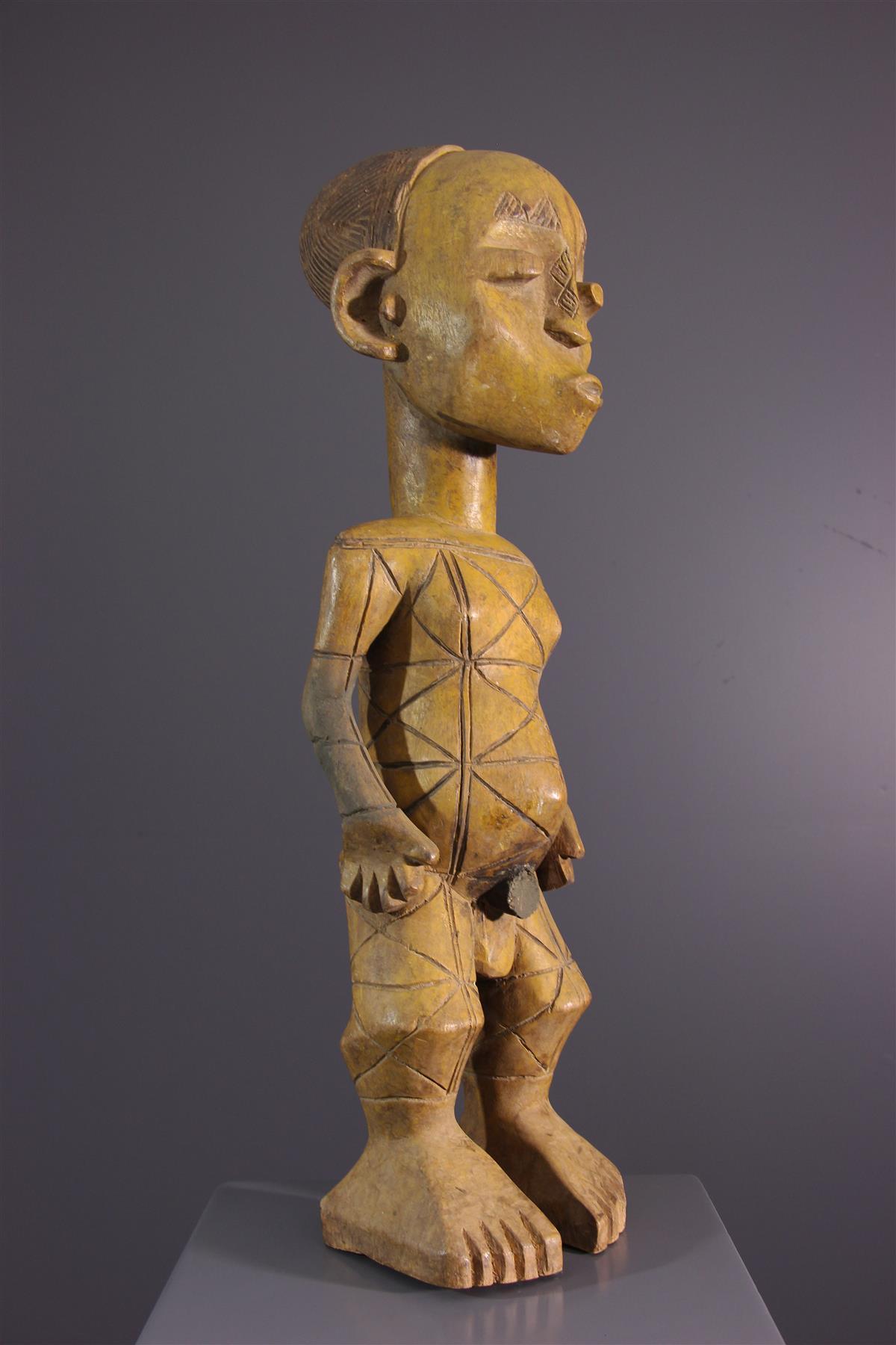 Statue Mangbetu - Art tribal