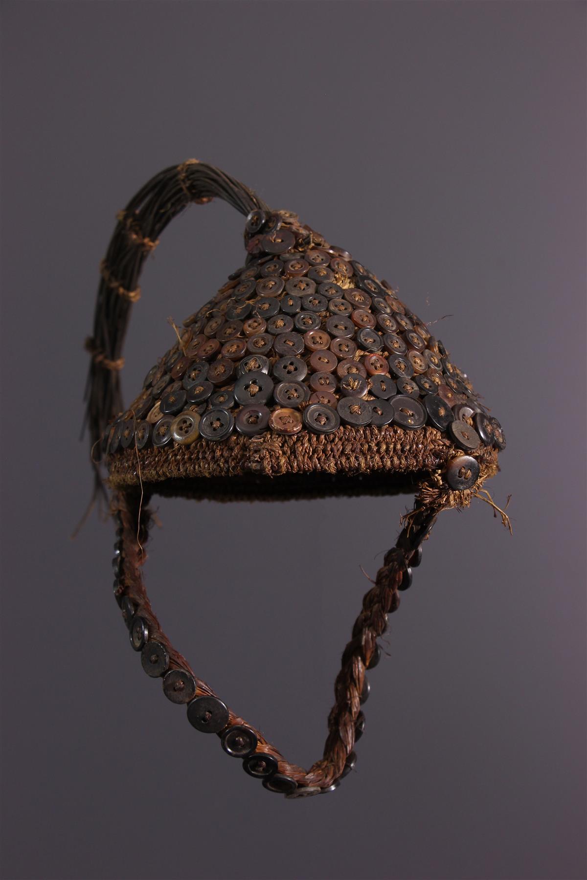 Coiffe Lega - Art tribal