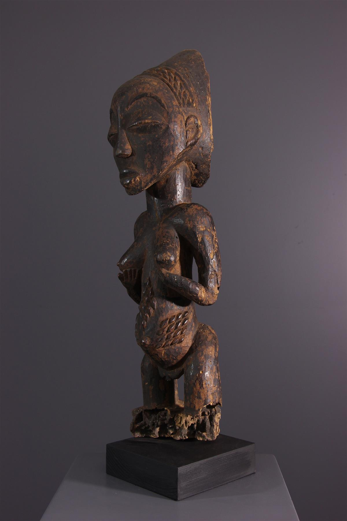 Statue Luba - Art tribal