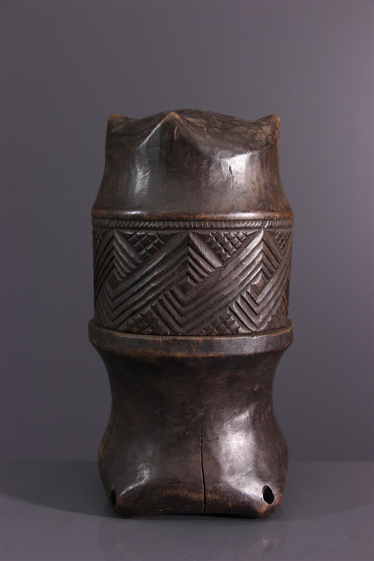 Boite Kuba - Art tribal