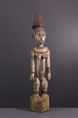 Art tribal - Figure de sanctuaire Urhobo