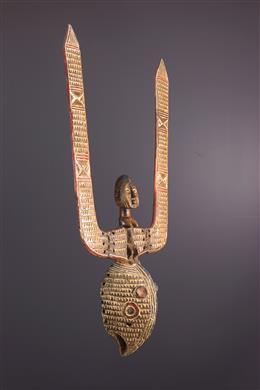 Art tribal - Masque facial Mossi