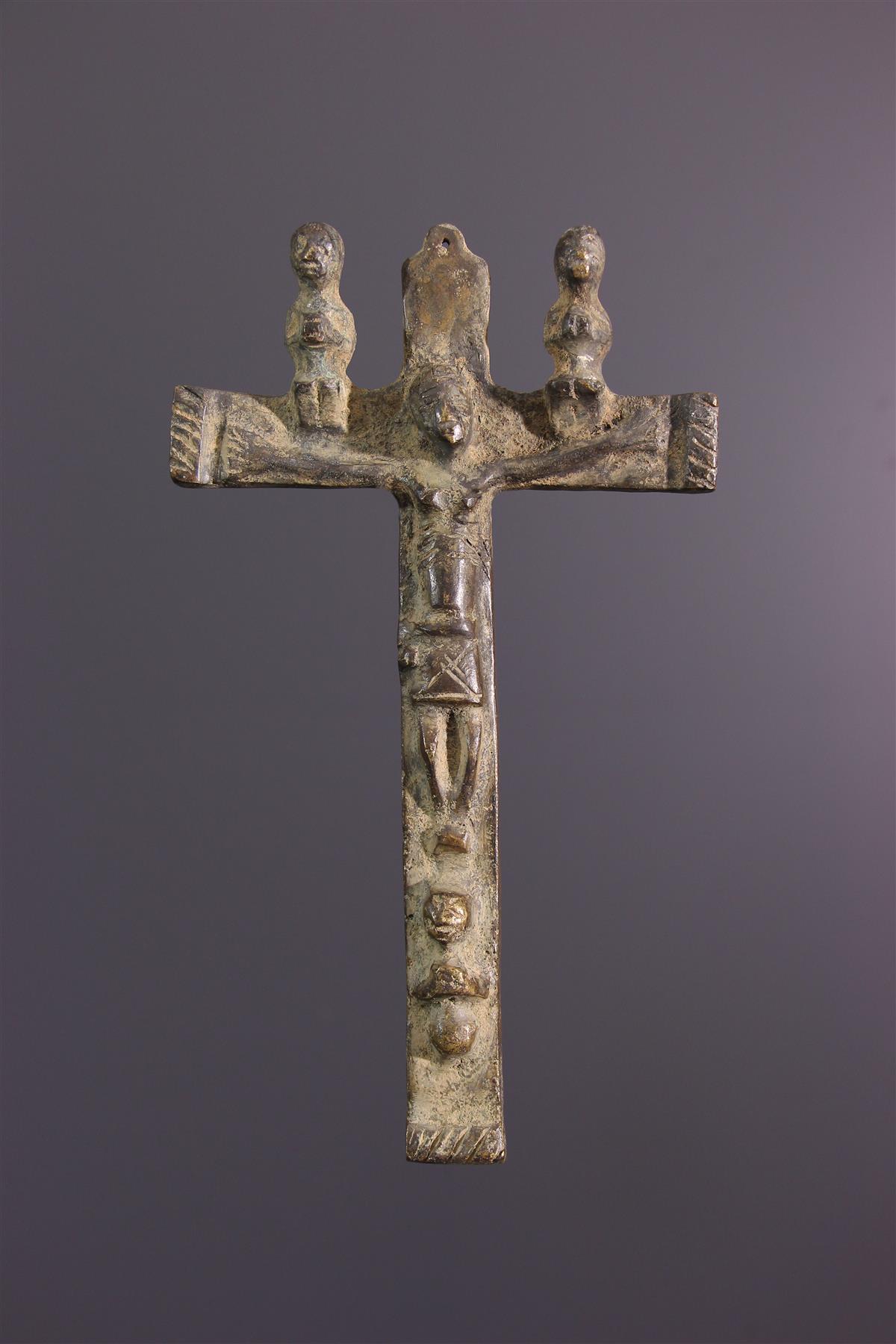 Crucifix Kongo - Art tribal