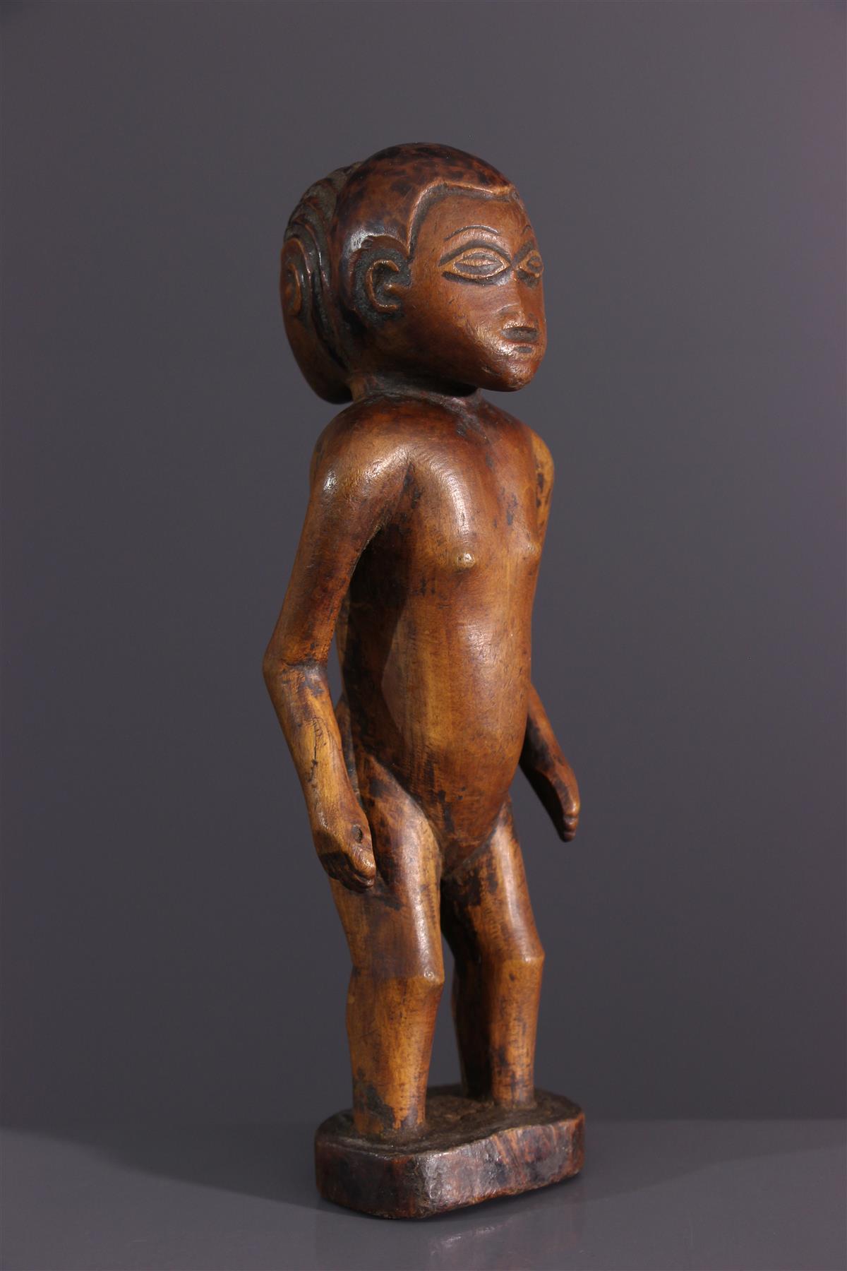 Statuette Tabwa - Art tribal