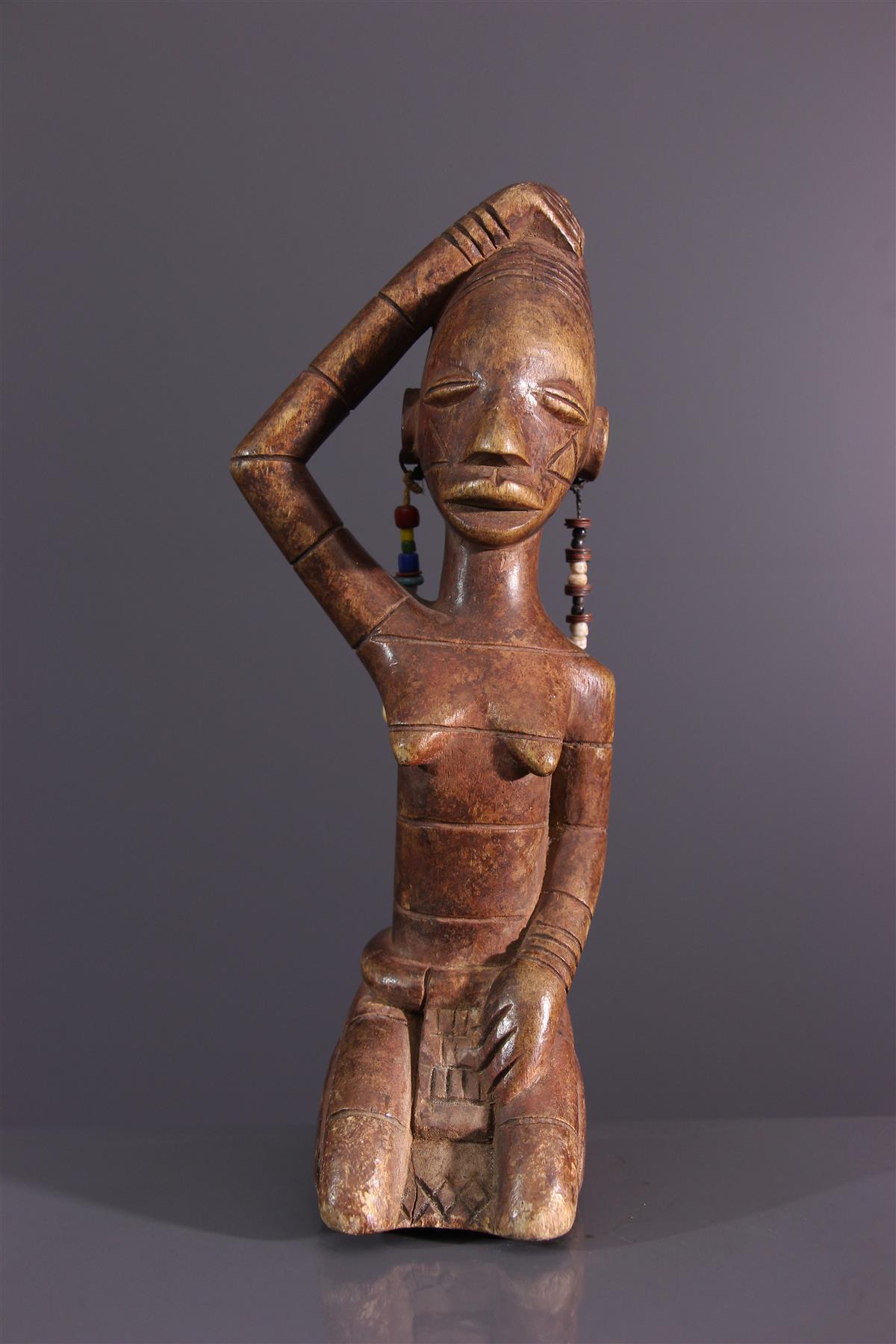 Statuette mANGBETU - Art tribal