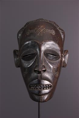 Masque Chokwe Mukishi wa Pwo