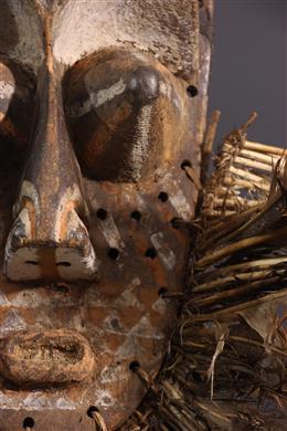 Masque Kete - Art tribal