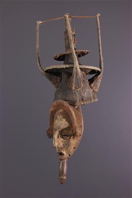Art tribal - Masque cimier Yaka