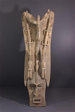 Art tribal - Grand masque Bambara