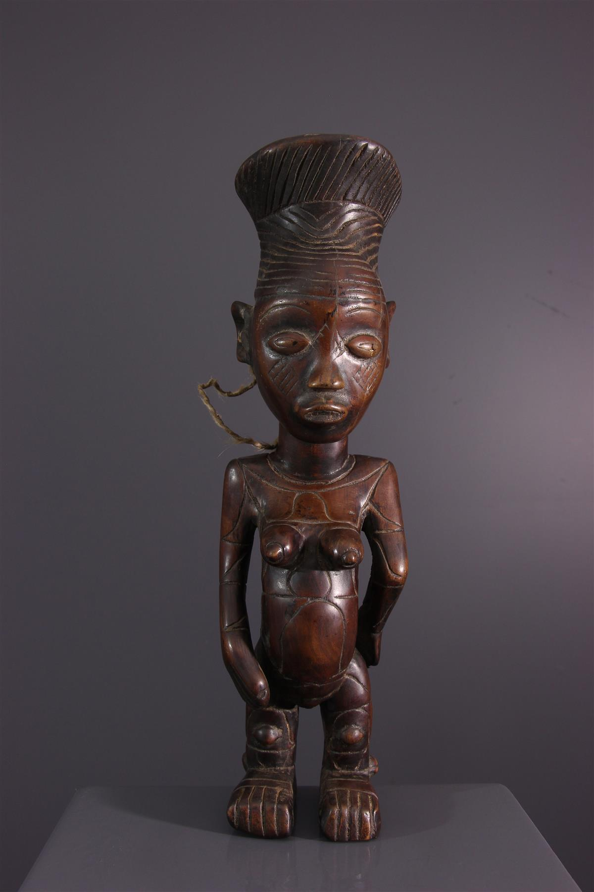 Statue Mangbetu - Art tribal