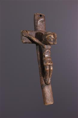 Art tribal - Crucifix Kongo Nkangi kiditu