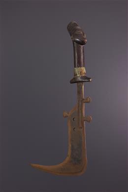 Couteau de parade Mangbetu