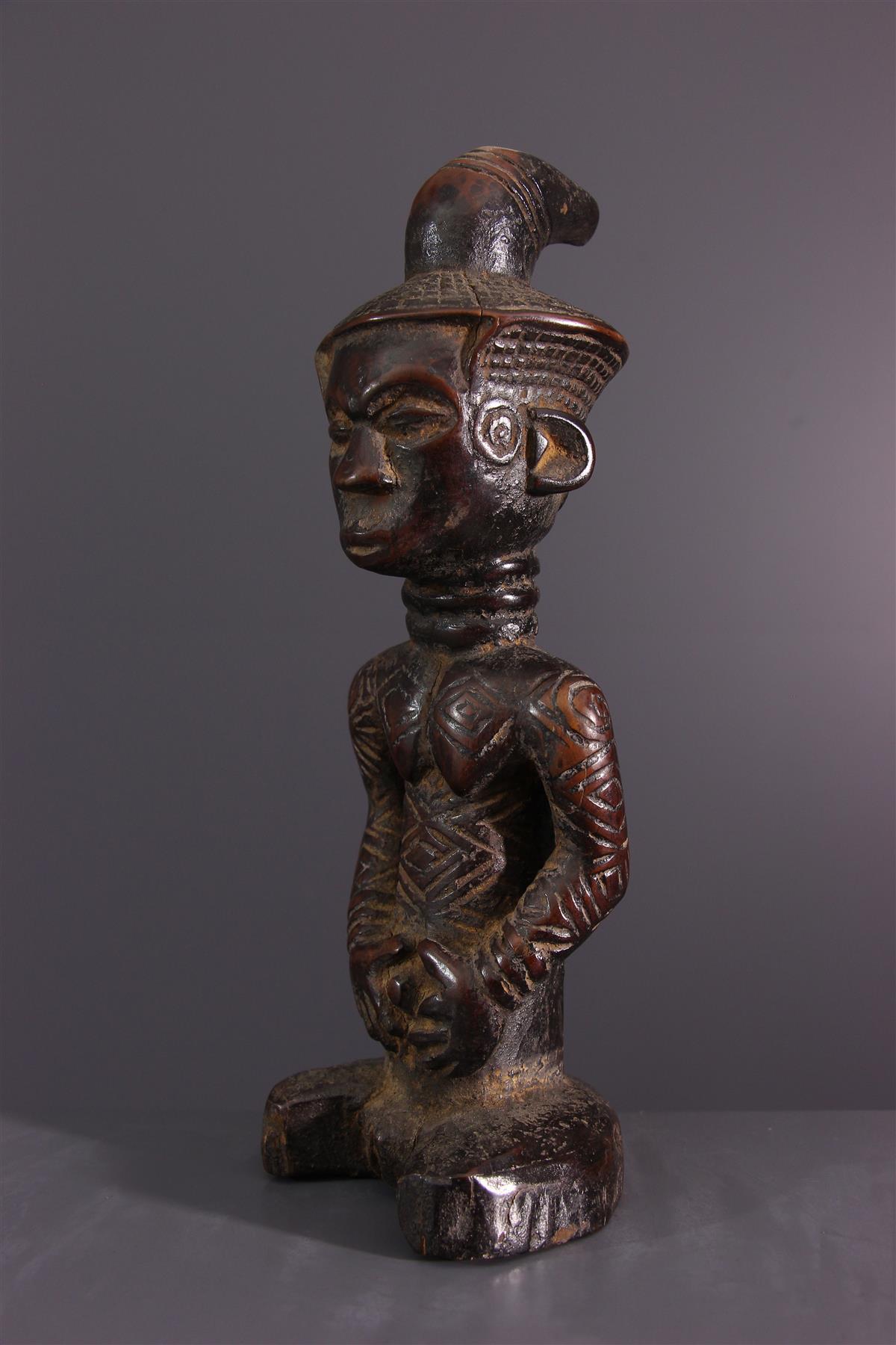 Statuette Ndengese - Art tribal