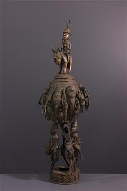 Art tribal - Pot cérémoniel Bénin Edo